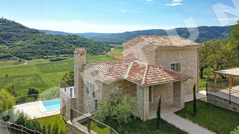 Villa di lusso nell 39 istria centrale con fantastica vista for Planimetrie della coperta