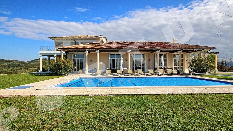 Villa di lusso nel collinare entroterra dell 39 istria - Orientamento piscina ...